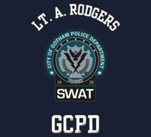 Custom Gotham Police - SWAT - Lt. A. Rodgers by CallsignShirts