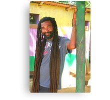 Rasta Man Canvas Print