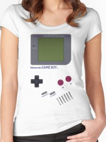 Nintendo GAME BOY Women's Fitted Scoop T-Shirt