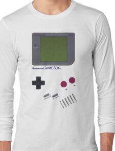 Nintendo GAME BOY Long Sleeve T-Shirt