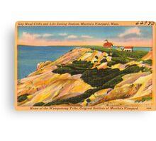 Gay Head Cliffs - Aquinnah - Martha's Vineyard Canvas Print