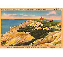 Gay Head Cliffs - Aquinnah - Martha's Vineyard Photographic Print