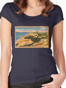 Gay Head Cliffs - Aquinnah - Martha's Vineyard Women's Fitted Scoop T-Shirt