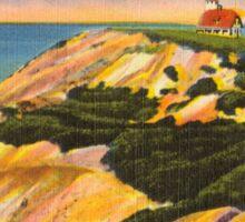 Gay Head Cliffs - Aquinnah - Martha's Vineyard Sticker