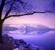 Sunday Morning at Okanagan Lake by Tara  Turner
