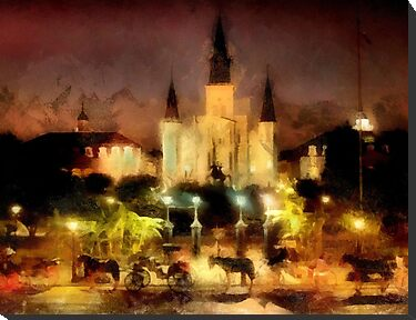 Jackson Square, New Orleans by SuddenJim