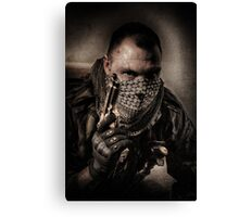 I'M JUST A SOLDIER Canvas Print