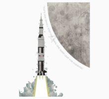 Apollo Rocket One Piece - Short Sleeve