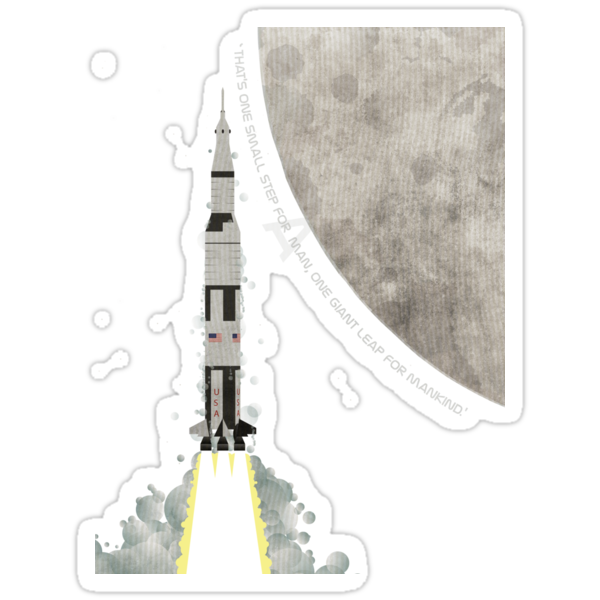 Apollo Rocket by Wyattdesign