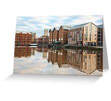 Gloucester docks Greeting Card