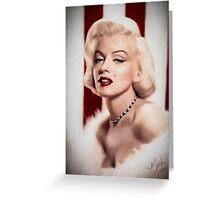 Marilyn Monroe- Queen of the Bombshells Greeting Card