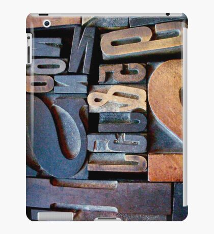 "Typesetting - The Number ""2"" iPad Case/Skin"