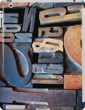 """Typesetting - The Number """"2"""" by Mary Ellen Garcia"""