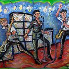 Revolution Rock - The Clash - Oil on Canvas by Jason Gluskin