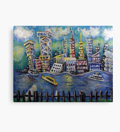 East River NYC  Canvas Print