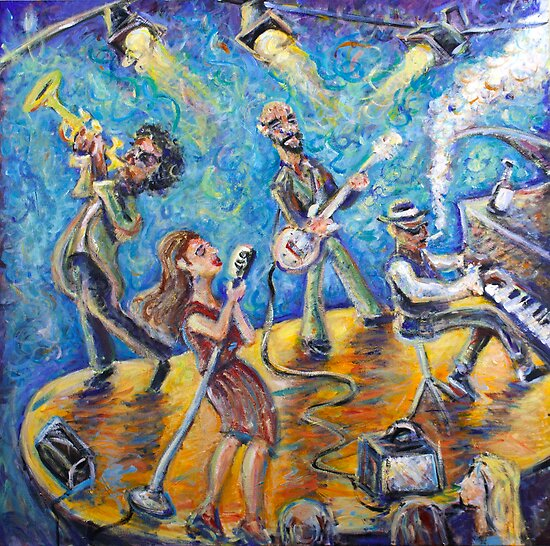 The Jazz Lounge by Jason Gluskin