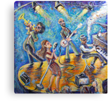 The Jazz Lounge Canvas Print