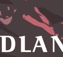 Property of the Badlands Sticker