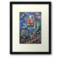 The Mixmaster Framed Print