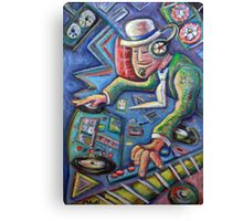 The Mixmaster Canvas Print