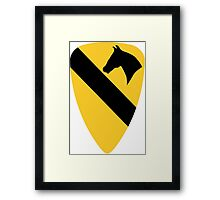 1st Cavalry Division Framed Print