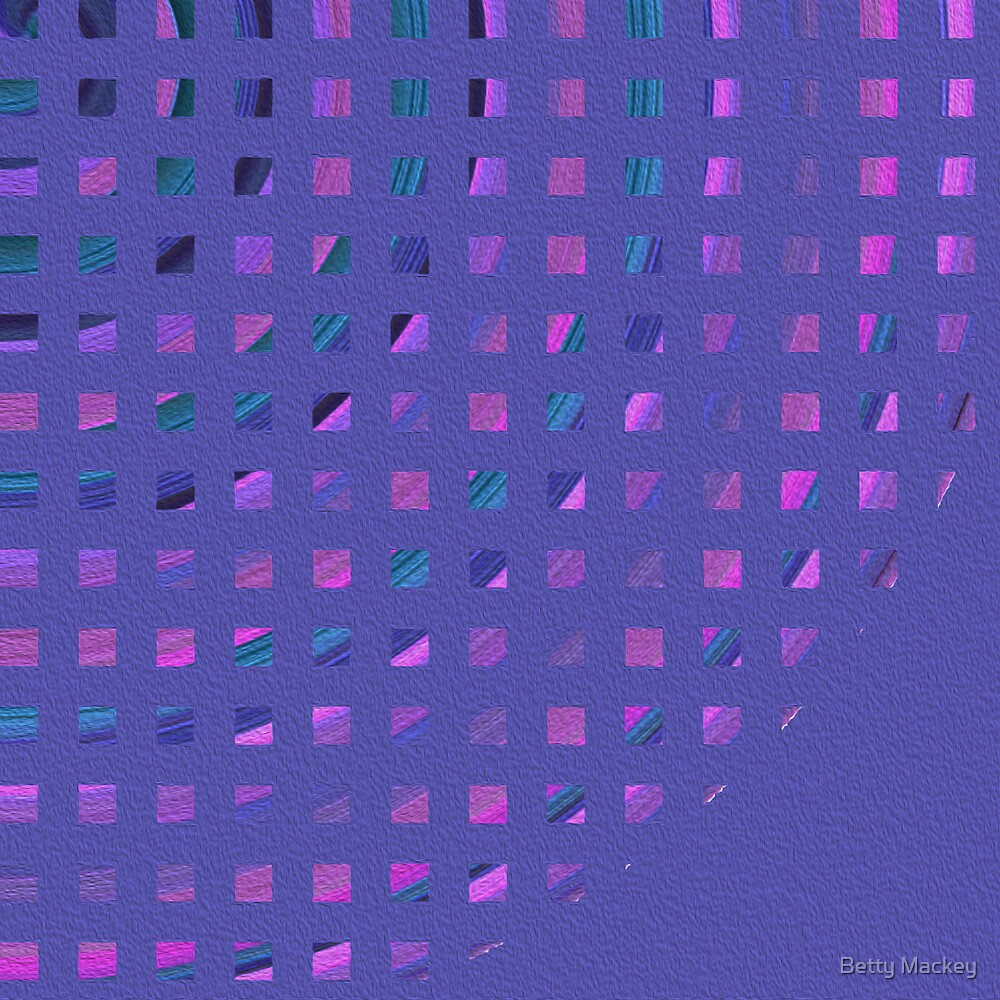 Abstract Squares by Betty Mackey