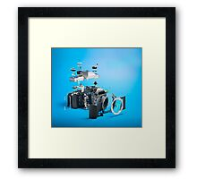 Warranty Void - Camera Framed Print