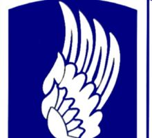 Insignia of the 173rd Special Forces Airborne Brigade! Sticker