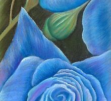 'A Touch  Blue' by Dawn Wakelam