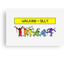 Pop Shop Silly Walks Canvas Print