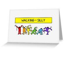 Pop Shop Silly Walks Greeting Card