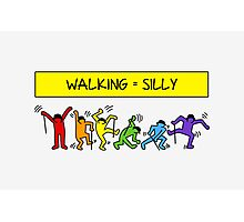 Pop Shop Silly Walks Photographic Print