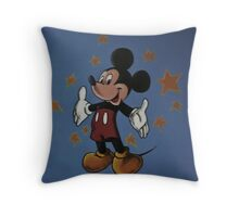 Wall mural Throw Pillow