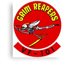 VF-101 Grim Reapers Logo Canvas Print
