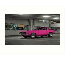 1970 Plymouth Cuda Art Print