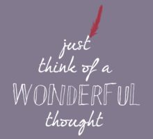 Wonderful Thought Kids Tee