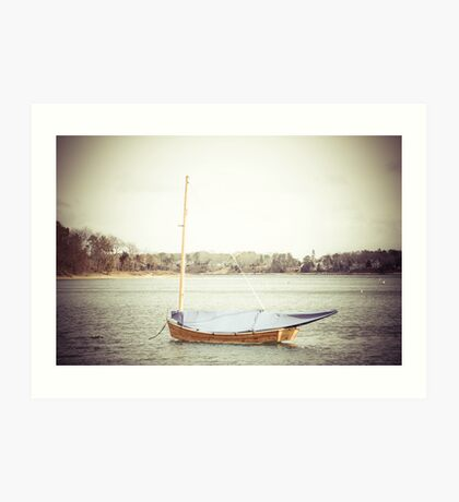 Small Sailboat Art Print