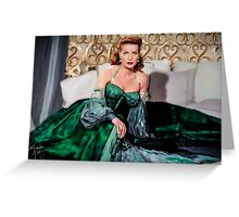 Maureen O'Hara- Queen of the Spitfires Greeting Card