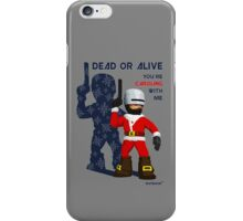Robo Santa iPhone Case/Skin