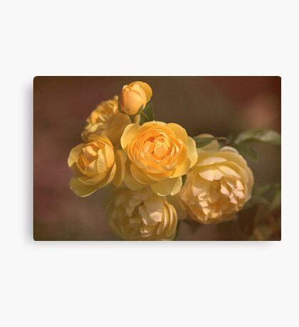 Romantic Roses Canvas Print
