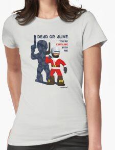 Robo Santa Womens Fitted T-Shirt