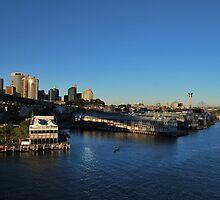 "Sydney Harbour ""Pier One West"" by bidya"