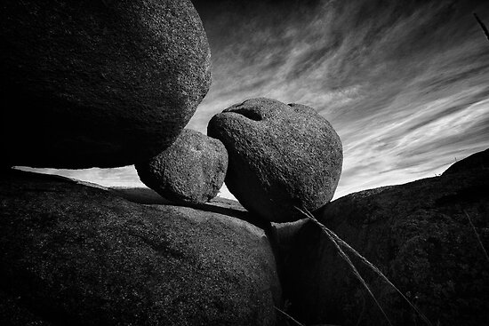 Between A Rock by Bob Larson
