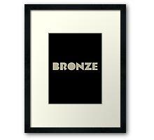 The Bronze Framed Print