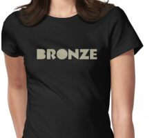 The Bronze Womens Fitted T-Shirt