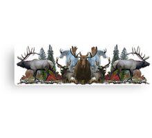 North American Wildlife  Canvas Print