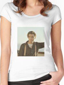 Leonardo DiCaprio Women's Fitted Scoop T-Shirt