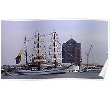 Tall Ship ARM Cuauhtemoc, Mexico Poster