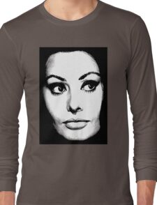 Sophia Loren Long Sleeve T-Shirt