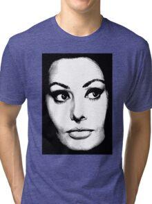Sophia Loren Tri-blend T-Shirt